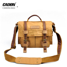 Waterproof Professional DSLR Bag Retro leisure Canvas Camera Bag/Case Travel Photo Bag Backpack for Canon Nikon Sony