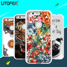 "For Google Pixel Brand Cute Cartoon Mandala Flower Printed TPU Soft Back Case For Google Pixel 5.0"" Marble Stone Phone Cover"