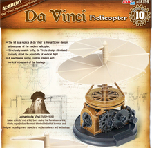 Academy Edukit 18159 Da Vinci Machine Series Helicopter Plastic Model Kits