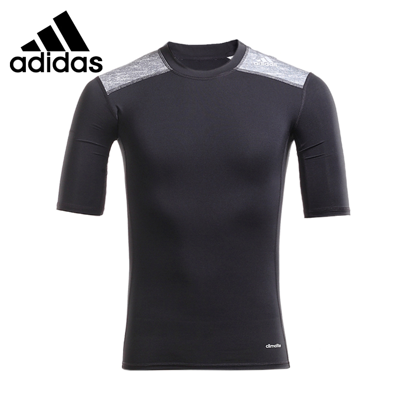Original New Arrival  Adidas TECH FIT Mens T-shirts short sleeve Sportswear <br>