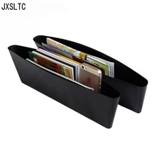 Fashion Car Plastic Storage Box Car Seat Gap Pocket Storage Bins Cube Organizer Auto Parts Project Interior Accessories Products