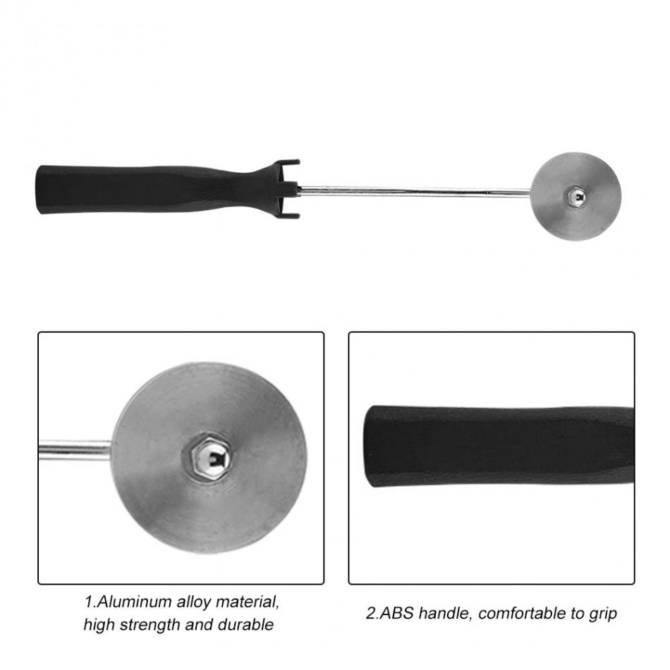 Details about  /Aluminum Alloy Fiberglass Bubble Laminating Roller ABS Handle for GRP FRP Resi