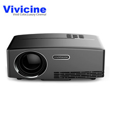 Vivicine GP80 LED Video Projector Home Projector with Free HDMI Support 1080P for Home Cinema Theater TV Laptop Movie Games