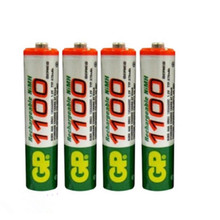 8pcs/Lot High energy GP Ni-MH 1100mAh AAA 1.2V Rechargeable Battery for Free shipping