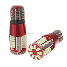 2X Car Light Cource Error Free T10 T15 W5W W16W Canbus 57 SMD 194 57SMD 57LED Light Bulb Car Reversing light Fog lights DRL