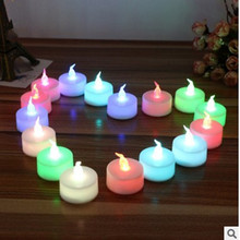 Buy LED Tea Light Candles Householed Sails LED Power Powered Valentine 's Day wedding party Flame Candles Church Lighting for $2.12 in AliExpress store