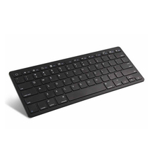 1 Piece Ultra-slim Wireless Keyboard Bluetooth 3.0 For IPad/iPhone Series/Mac Book/Samsung Phones/PC Computer Black(China)
