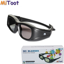 MiToot Active Shutter 3D IR Infrared RF Glasses Eyewear for Sony HW30ES 40ES 50ES 55ES 90ES & Sharp/Panasonic LCD 3D Projector