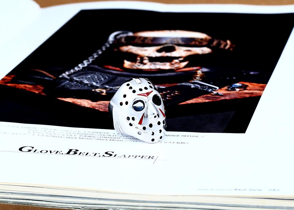 แหวนแฟชั่น Code 059 Friday 13 Series 2 สแตนเลส หน้ากากเจสันโหดๆ3