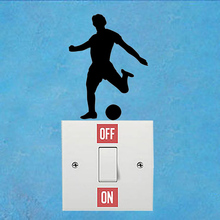 Football Fashion Bedroom Home Decor Vinyl Wall Sticker Light Switch Decals 6SS0217