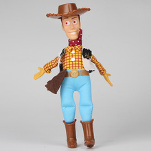 20cm Toy Story WOODY 2017 PP Cotton Plush Action Woody stuffed  figure  Model Toys For Children Christmas Gift free shipping