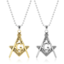 Buy Fashion Masonic Square Compasses Vintage Antique Freemason Symbol Mason G Pendant Necklace Alloy Metal Hip Hop Jewelry -30 for $1.47 in AliExpress store