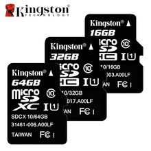 Kingston Class 10 Micro SD Card 8GB 16GB 32GB 64GB Memory Card C10 Mini SD Card SDHC SDXC UHS-I TF Card Microsd for Smartphone