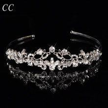 Wholesale Exquisite Design Top Austrian Crystal Tiaras Accessory Bridal Crowns for Women Wedding Hair Jewelry Accessories F020