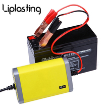 Liplasting AC 220V 12V 2A Motorcycle Car Battery Charging Units Charger LED Display Over Current Protection Fast Charger
