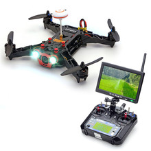 Eachine Racer 250 FPV Drone w/ Eachine I6 2.4G 6CH Transmitter 7 Inch 32CH Monitor HD Camera RTF Mode1 Mode2