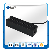 USB RE232 track 1 & 2  high and low coercivity magnetic card mini size magnetic card reader -hcc750m-04