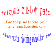 Private Custom Embroidery Patch clothing i jerseys christmas Embroidered patches