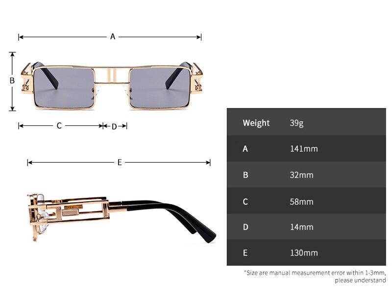 rectangle sunglasses 5036 details (1)