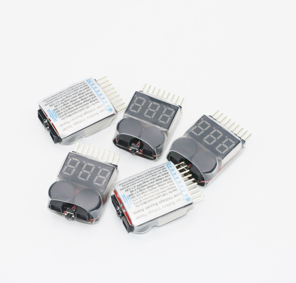 Best 1 8s Led Lipo Voltage Indicator Checker Tester Low Alarm Circuit Getsubject Aeproduct
