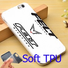 Felt bicycles Bike Logo TPU Phone Case for iPhone 6 6S 7 Plus 5S 5 SE 5C 4 4S Cover ( Soft TPU / Hard Plastic for Choice )
