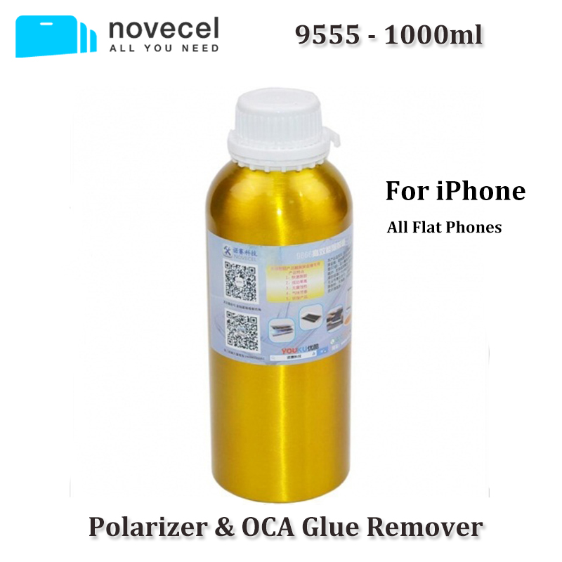 Novecel Free Shipping 1 bottle 9555 Polarizer Glue Remover for iPhone OCA Removing
