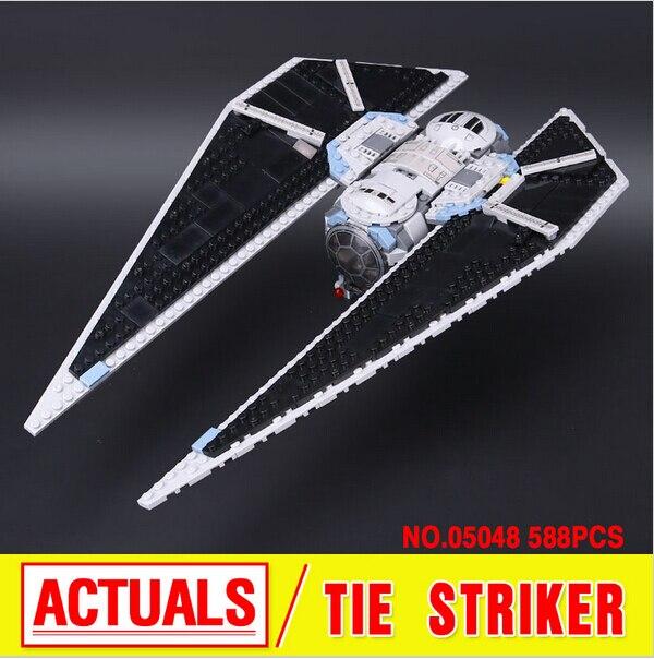 New Lepin 543Pcs 05048 Star War Seiers The TIE Striker Building Blocks Bricks  Toys Compatible<br><br>Aliexpress