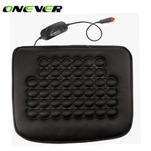 Car Heated Seat Cushion Heating Pad Cover Hot Warmer HI/LO Mode for Cold Weather Winter Driving 17.7*15.7""