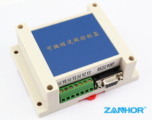 10MR 10MT 2AD PLC controller board compatiable with Mitsubishi PLC FX1N FX2N, 6DI 4DO 2AI 0-10V,  MT has RS485 Modbus, w. Case