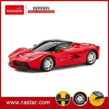 Rastar Licensed 1:24 Ferrari LaFerrari Best selling emulation rc car toys scale remote control car 48900 for new year gift