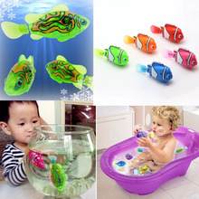 Luminous Electric Robotic Fish Activated Battery Powered Swimming Boy Bath Pet Toys Aquarium Decor Dropshipping Wholesale