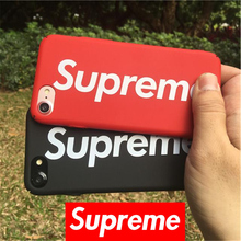 Fashion Supreme Camouflag Cases For iPhone 7 7Plus 6 6s Plus 5s SE Luxury Supreme army Matte Hard PC Phone Cover Coque Fundas