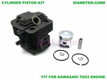 Cylinder Piston kit for KAWASAKI TH23 Brush Cutter.Grass Trimmer.Lawn Mower.Tiller.Gasoline Engine Garden Tools Spare Parts