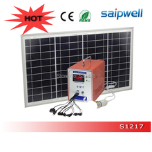 12V 17AH Portable Mini Solar  Power System for Home