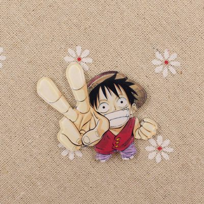 Anime ONE PIECE Tony Chopper Cosplay Acrylic Badges Monkey D. Luffy Brooch Pin Backpack Clothes Cute Decoration Brooches (19)