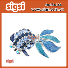 Supplier wholesale crystal rhinestone brooch for party(China)