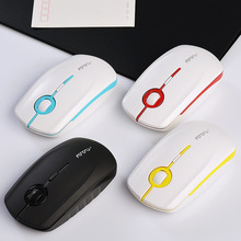 The Beautiful new ultra-thin optical mouse usb wireless mouse playing game for girls
