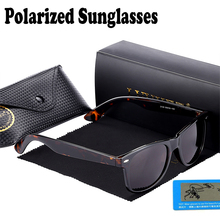 Hot Top Quality Classic Men Polarized Glasses 2140 Fashion Brand Retro Wayfare UV400 Sun Glasses 54mm lens Oculos female