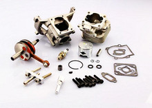 ROVAN High Performance 30.5cc Upgrade Cylinder Kit Four Bolt Head Baja Engine Parts 2 Change 4 BOLT(China)
