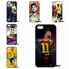 For iPhone 4 4S 5 5C SE 6 6S 7 Plus Galaxy J5 J3 A5 A3 2016 S5 S7 S6 Edge Neymar Jr For Barcelona back Hard Phone Case Cover