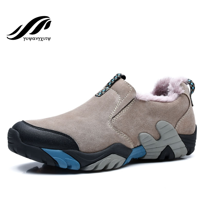 2016 New hiking shoes rubber sole outdoor high quality breathable sport shoes Men &amp; women Sneaker climbing shoes<br><br>Aliexpress