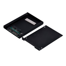 High Quality Micro SATA 1.8Inch To 2.5Inch HDD Hard Drive SSD Convertor Enclosure Adapter Free Shipping & Wholesale