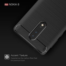 "WolfRule sFor Phone Case Nokia 8 Cover Shockproof TPU Brushed For Nokia 8 Case Nokia 8 Nokia8 Mobile Shell Fundas Capa 5.3""(China)"