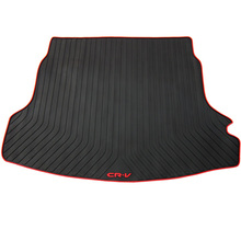 dedicated rubber car trunk mats for CRV texture warehouse environment green latex waterproof wear resistant non slip
