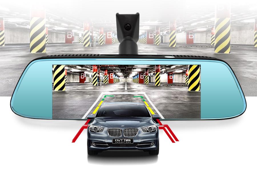 "Junsun 8"" 4G Special Mirror Car DVR Camera Android 5.1 with GPS DVRs Automobile Video Recorder Rearview Mirror Camera Dash Cam 11"