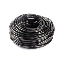 Free Shipping 10M/30M/50M New Material PVC 4/7mm Watering Hose For Garden Drip Irrigation System Black Environmental Water Hose(China)