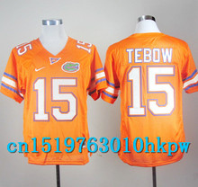 2017 Nike North Carolina Tar Heels Tim Tebow 15 College Nike Sweatshirts - Orange Color Size S,M,L,XL,2XL,3XL