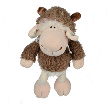 35cm, BOHS Plush Sheep in Wolf Hood Toy Wolf in Sheep Hood Stuffed Animals Toys(China)