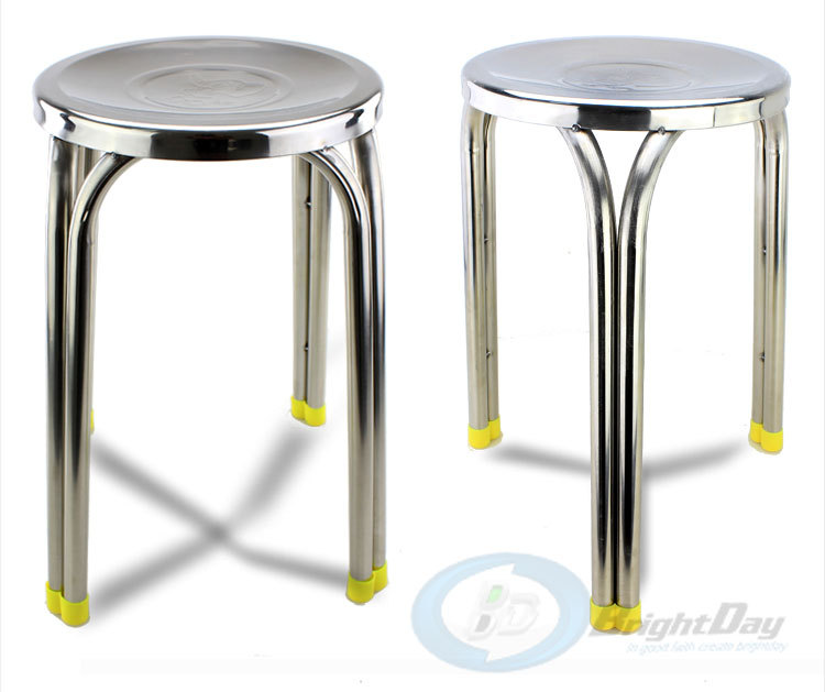 Wholesale 30*29cm Stainless steel round stool Non-slip stools<br><br>Aliexpress