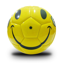 1 Piece Yellow Smiling Face Soccer Ball Children Kids Playing Funny Football Indoor Sport Training Balls Futbol Voetbal Bola(China)